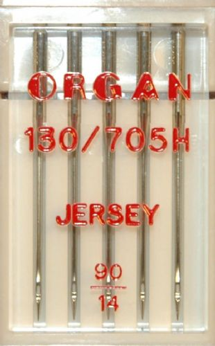Organ Sewing Machine Needles Size 130/705 Jersey Size 90 BLB76